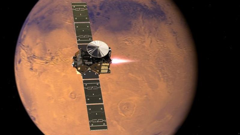 Школьник из Омска представит в NASA проект марсохода