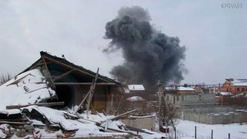 ДНР: мирный житель погиб при взрыве на донецком химзаводе