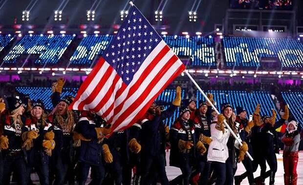 Западные СМИ об олимпийском скандале: запретите США участвовать в играх