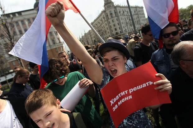 Кто толкает к революции молодежь – дрянной Навальный или дрянная жизнь?