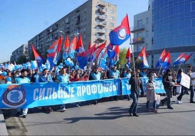 Профсоюзы перехватывают пенсионные митинги у Навального