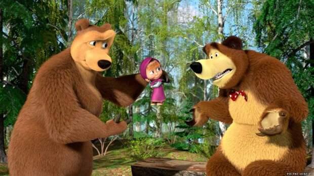 Мягкая сила Путина: в Прибалтике рассказали, как победить «Машу и Медведя»