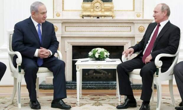 Путин дал маху — снова встретил Нетаньяху