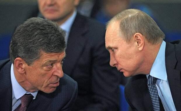 Козак – один из кандидатов в преемники Путина