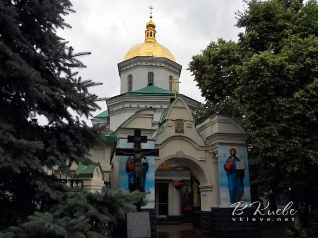 Древнейший Свято-Ильинский храм в Киеве