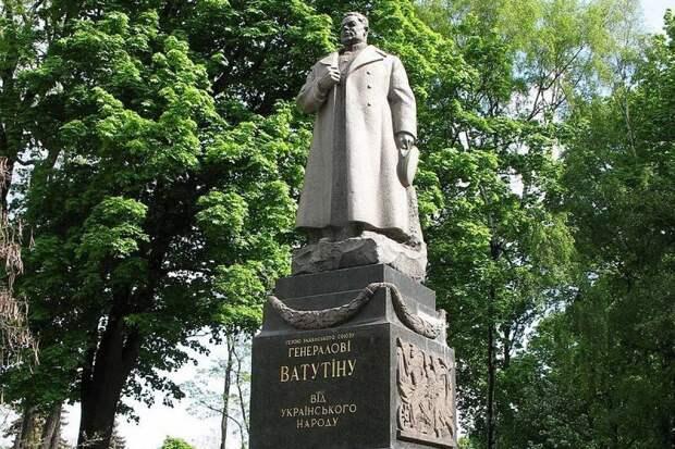Страх нового Майдана: Киев не встанет на защиту памятника Ватутину