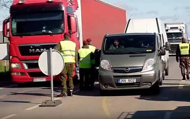 Прибалты недовольны закрытием границ Белоруссией