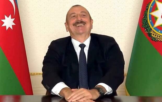«Пашинян, что случилось?». Алиев высмеял главу Армении в видеообращении
