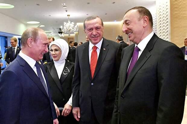 Путин и Алиев удачно разыграли карту Эрдогана