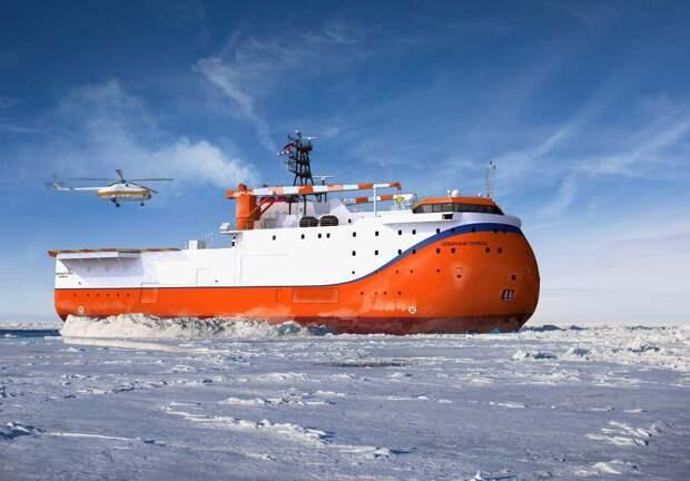Новейшее российское судно назвали самым уродливым на свете