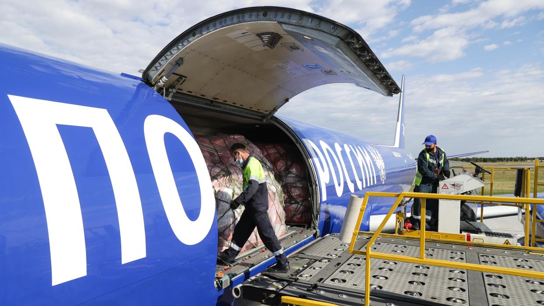Москва увеличила объем международных грузовых авиаперевозок из-за COVID в 2,7 раза