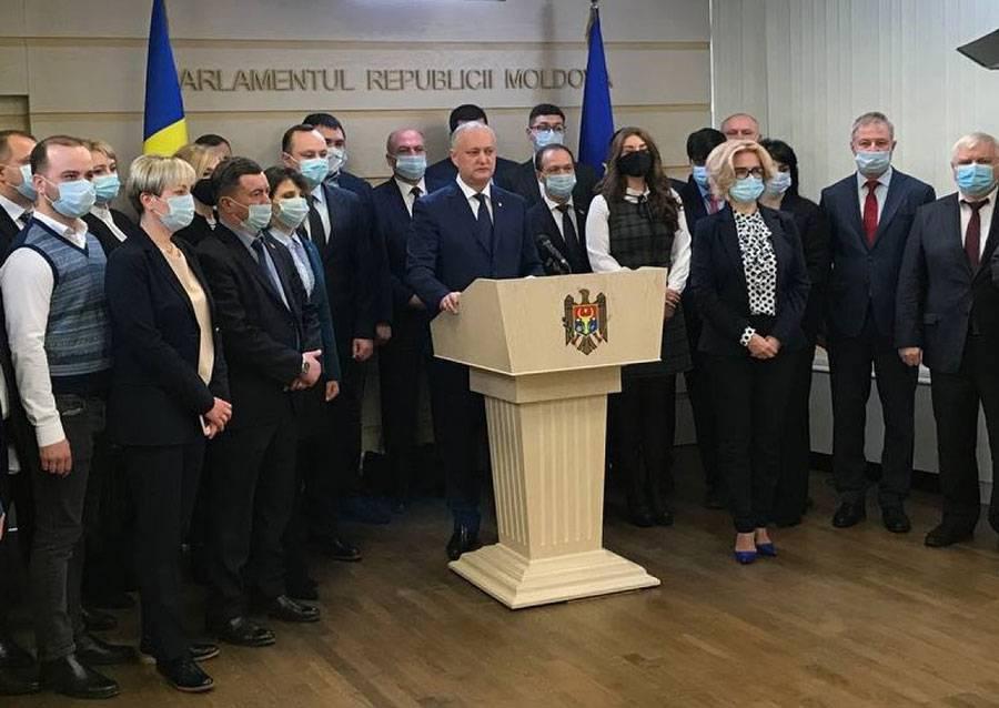 Когнитивный диссонанс в парламенте Молдовы