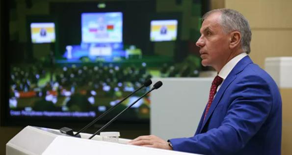 Константинов назвал обещание Киева возобновить подачу воды в Крым блефом