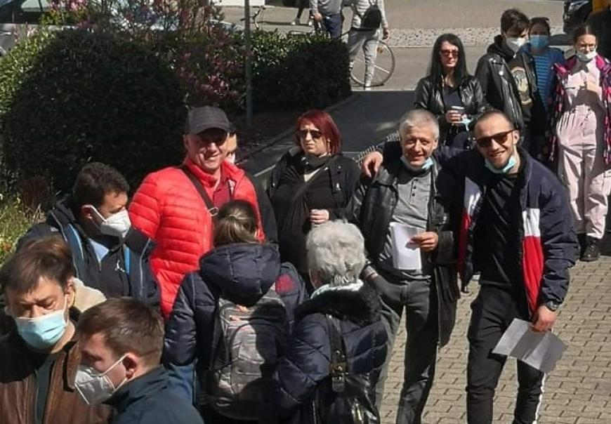 Голосование болгар в Германии
