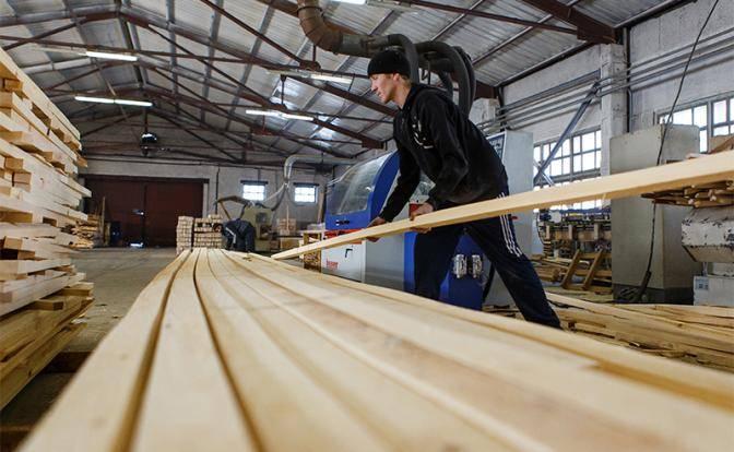 Лес для строительства домов становится в России дороже золота