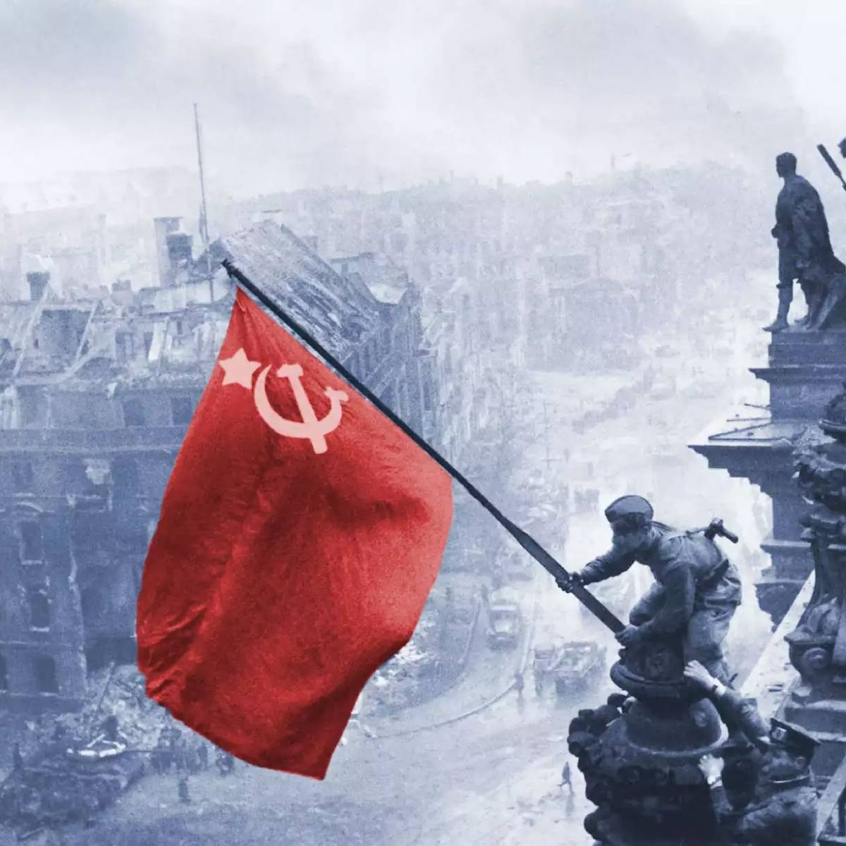 На Украине заводят дела из-за советского флага и георгиевской ленты