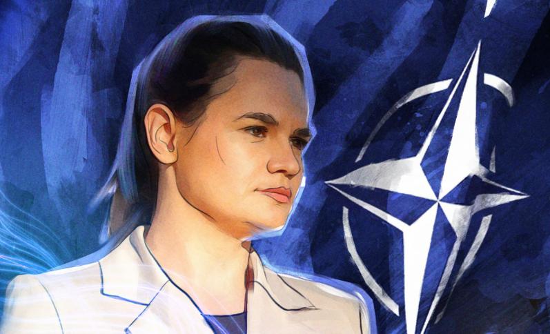Тихановская меняет остатки поддержки народа на поддержку США