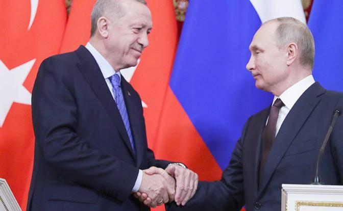 Переговоры Путина и Эрдогана: чего ожидать